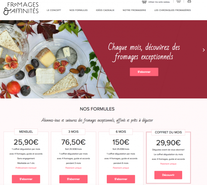 Fromages & affinités